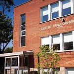 le bâtiment de l'école primaire