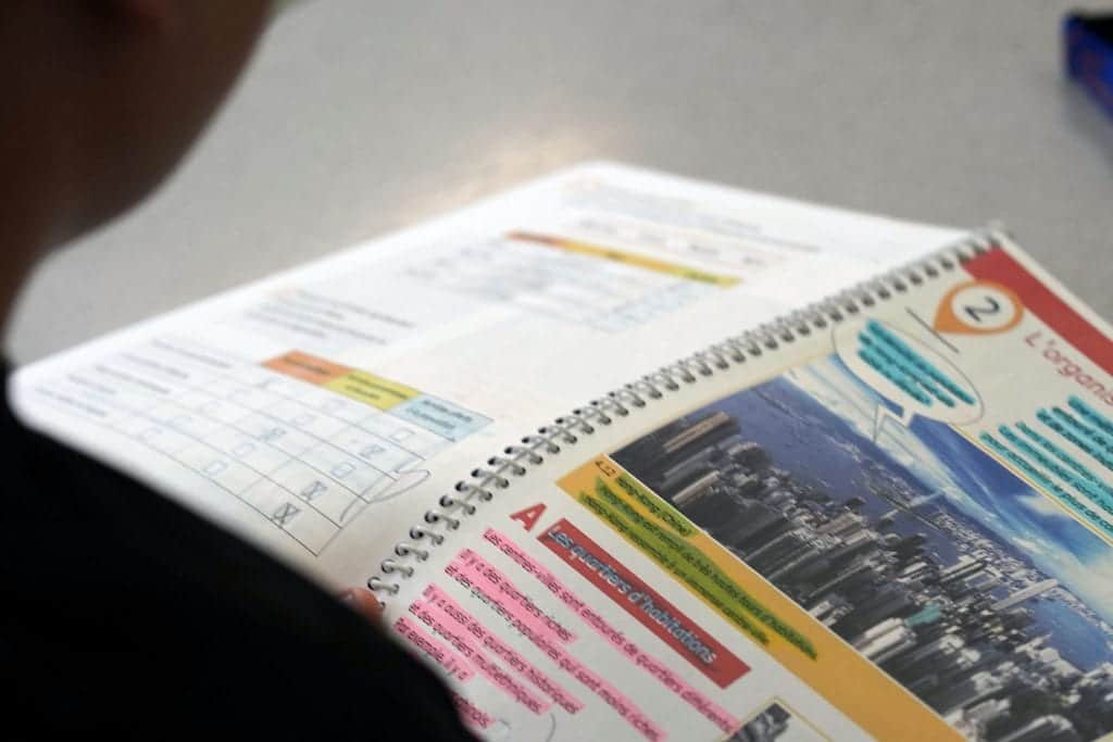 manuel de classe