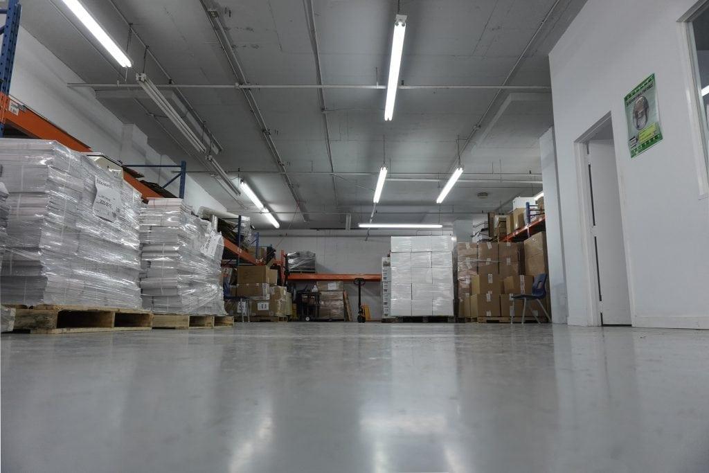 entrepôt de La Passerelle du Centre François-Michelle