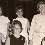six dames impliquées dans la fondation du Centre François-Michelle